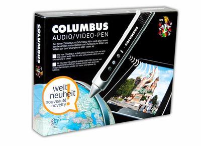 COLUMBUS Audio/Video-Pen - Columbus Verlag - , Deutsch, , Der neue Columbus Audio/Video Pen spelt jetzt neben den bekanten Audio-Dateien auch fantastische Bilder und Videos auf dem Smartphone oder Tablet ab, Der neue Columbus Audio/Video Pen spelt jetzt neben den bekanten Audio-Dateien auch fantastische Bilder und Videos auf dem Smartphone oder Tablet ab