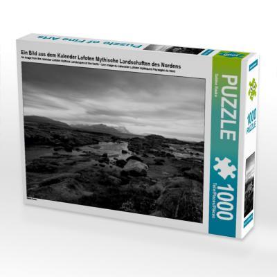 Ein Bild aus dem Kalender Lofoten Mythische Landschaften des Nordens (Puzzle)
