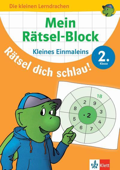 Mein Rätsel-Block Rätsel dich schlau! Das kleine Einmaleins 2.Klasse