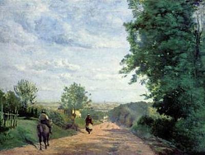 Jean-Baptiste-Camille Corot - Weg nach Sèvres - 200 Teile (Puzzle)