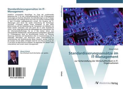Standardisierungsansätze im IT-Management