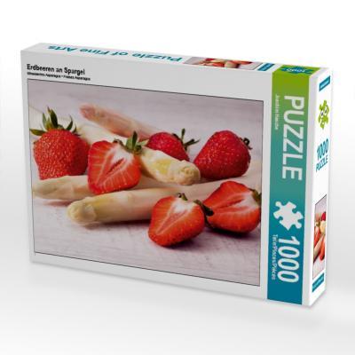 Erdbeeren an Spargel (Puzzle)