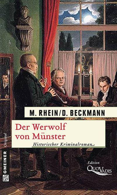Der Werwolf von Münster; Historischer Kriminalroman   ; Historischer Roman ; Deutsch