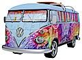 VW Bus T1 Indian Summer 3D Sonderformen
