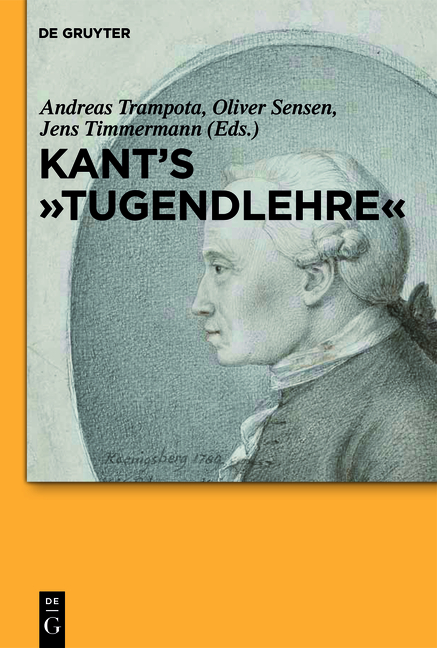 "Kant's """"Tugendlehre"""" Andreas Trampota"