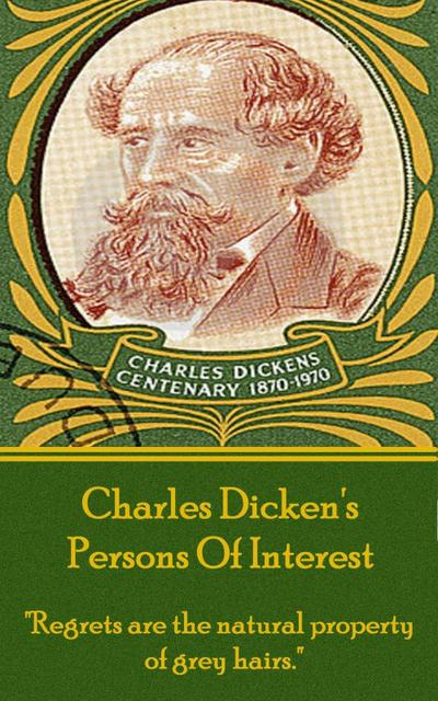 Charles Dickens - Persons Of Interest