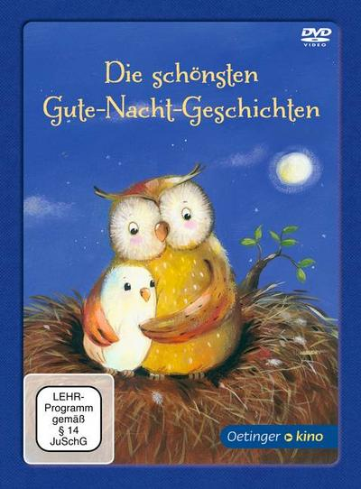 Die schönsten Gute Nacht Geschichten (DVD); Deutsch; Bitte diese Informationen aufbewahren. Achtung! Nicht für Kinder unter 36 Monaten geeignet. Kleinteile. Verschluckungs- und Erstickungsgefahr.