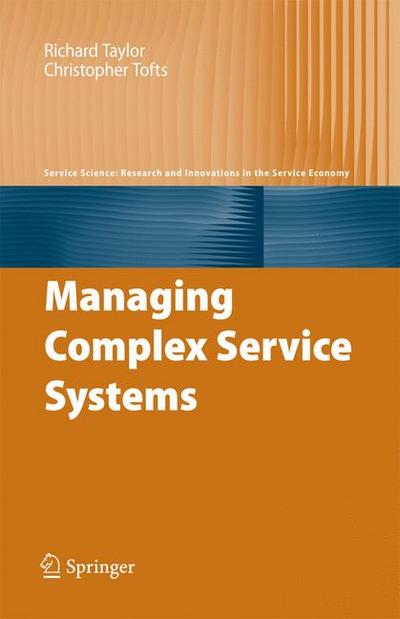 Managing Complex Service Systems
