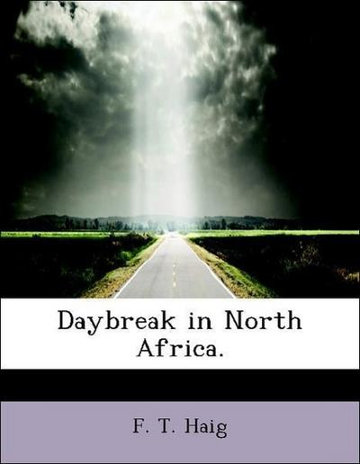 Daybreak in North Africa.
