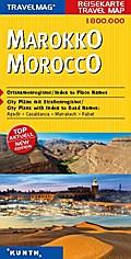 KUNTH Reisekarte Marokko 1:800 000