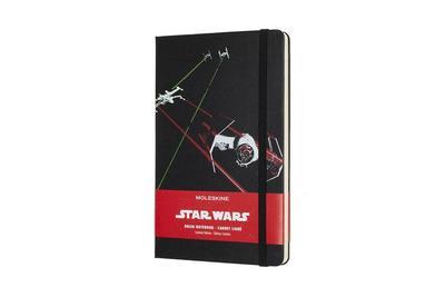 Moleskine Notizbuch - Star Wars, L/A5, Liniert, Hard Cover, Schiff