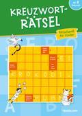 Kreuzworträtsel. Rätselspaß für Kinder ab 8 Jahren; Rätsel, Spaß, Spiele; Deutsch; schw.-w.