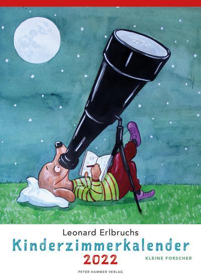 Leonard Erlbruchs Kinderzimmerkalender 2022