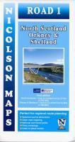 Nicolson Map 01. North Scotland, Orkney & She ...