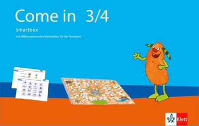 Come in 3/4. Ab Klasse 1: Smartbox mit Materialien für die Freiarbeit Klasse 3/4 (Come in ab Klasse 1. Ausgabe für Berlin, Brandenburg, Hamburg, Nordrhein-Westfalen und Rheinland-Pfalz ab 2016) - Klett - Sondereinband, Deutsch| Englisch, , ,