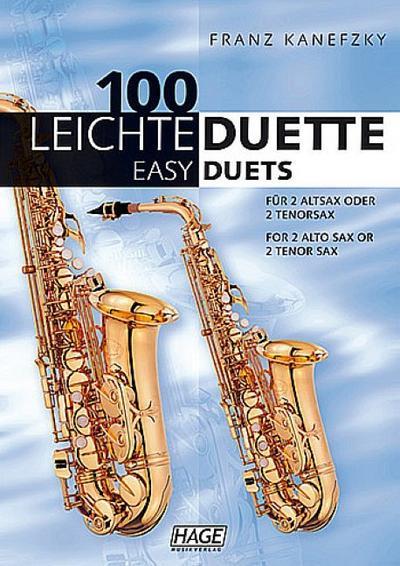 100 leichte Duettefür 2 Altsaxophone