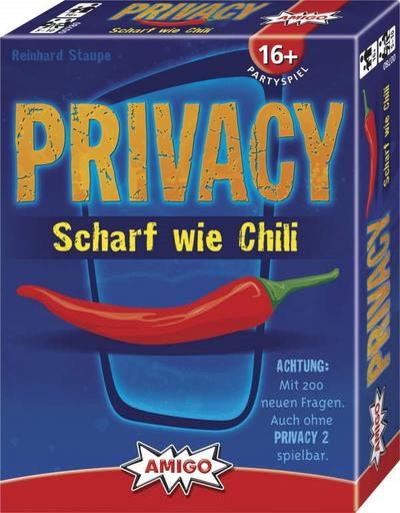 Amigo 00780 - Privacy - Scharf wie Chili, Partyspiel