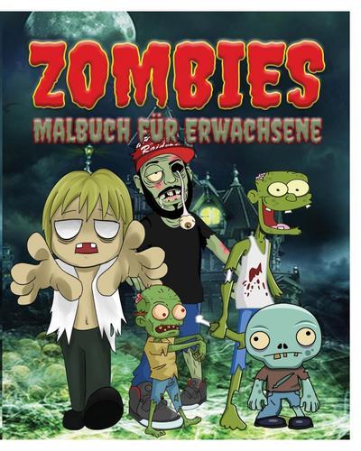 Zombies Malbuch Fur Erwachsene