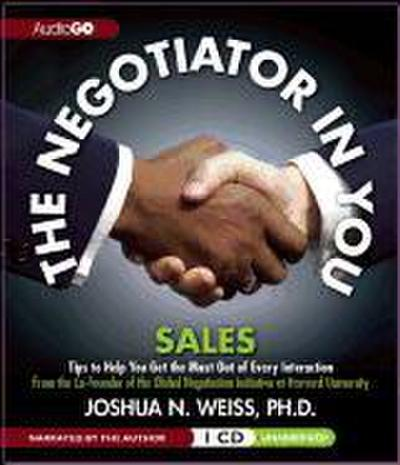 The Negotiator in You: Sales
