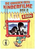 Die grossen DEFA Kinderfilme Box 2 - 4er Schuber - (Insel der Schwäne; Abenteuer mit Blasius; Familie Wirbelwind; Familie Wirbelwind auf Urlaub)