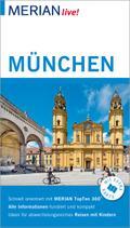 MERIAN live! Reiseführer München; Mit Extra-Karte zum Herausnehmen; MERIAN live; Deutsch