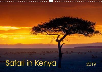 Safari in Kenya (Wall Calendar 2019 DIN A3 Landscape)
