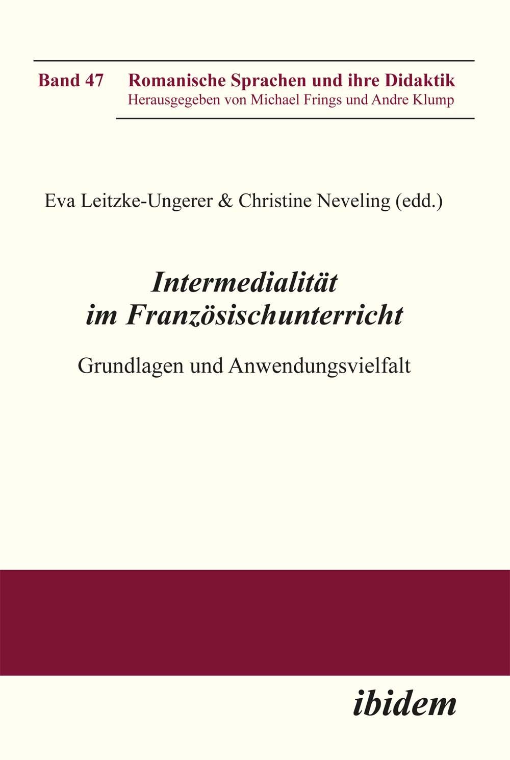 Intermedialität im Französischunterricht | Eva Leitzke-Unger ... 9783838204451