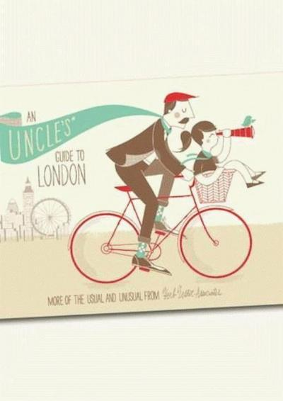 An Uncle`s Guide To London (Herb Lester) - Herb Lester Associates - Landkarte, Englisch, Herb Lester Associates, More of the Usual and Unusual, More of the Usual and Unusual