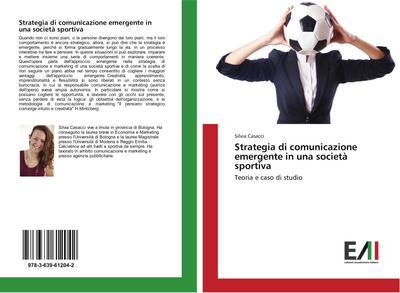 Strategia di comunicazione emergente in una società sportiva