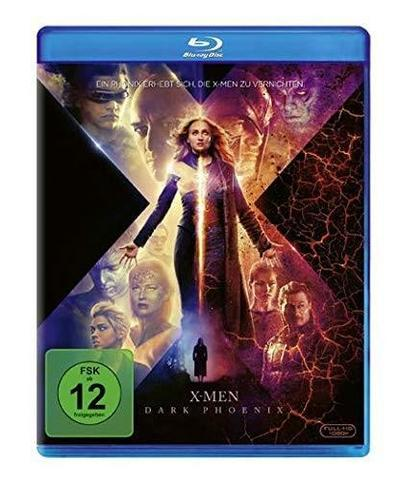 X-Men: Dark Phoenix, 1 Blu-ray