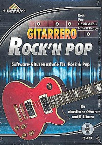 Gitarrero Rock'n Pop : CD-ROM