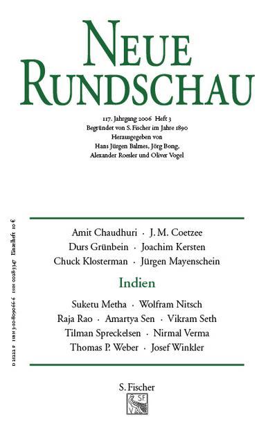 Neue Rundschau 2006/3