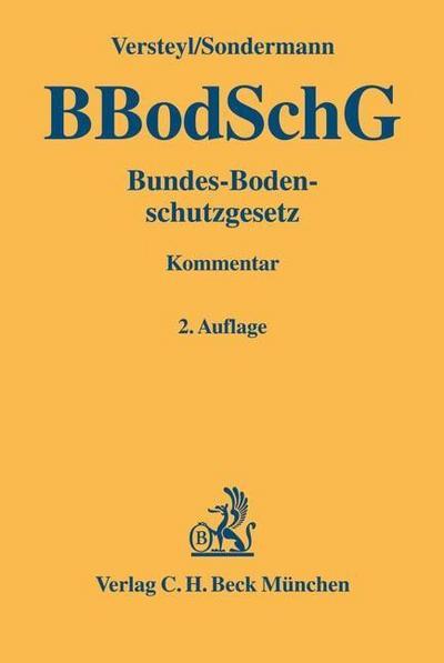 Bundesbodenschutzgesetz - (BBodSchG)