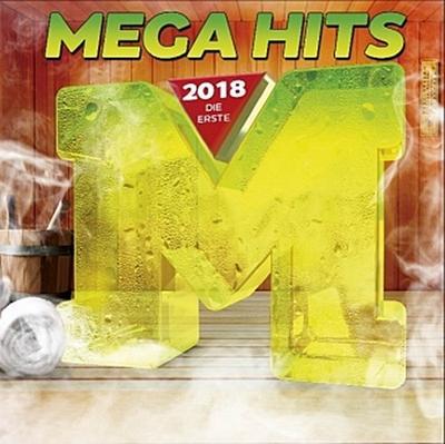 MegaHits 2018 - Die Erste, 2 Audio-CDs