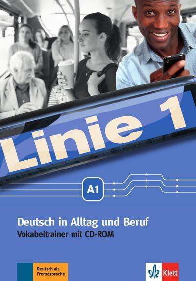Linie 1 A1 Vokabeltrainer mit CD-ROM