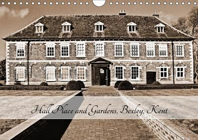 Hall Place and Gardens, Bexley, Kent (Wall Calendar 2019 DIN A4 Landscape)