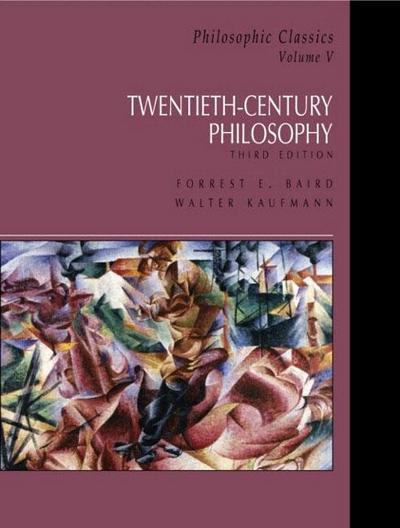 Philosophic Classics, Volume V