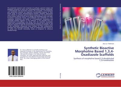 Synthetic Bioactive Morpholine Based 1,3,4-Oxadiazole Scaffolds