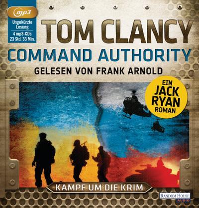 Command Authority; Kampf um die Krim   ; 4 Bde/Tle; Sprecher: Arnold, Frank /Aus d. Engl. v. Bayer, Michael; Deutsch; Hörbücher