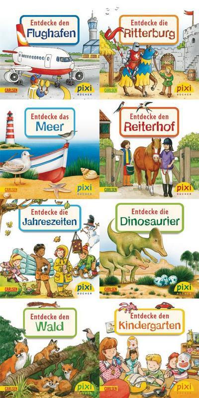 Pixi-Bücher Serie Nr. 196: Entdecke deine Welt 2. 64 Exemplare