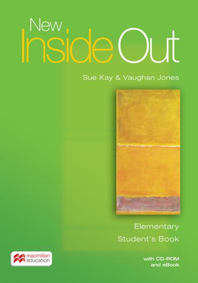 New Inside Out. Elementary. Student's Book with ebook and CD-ROM