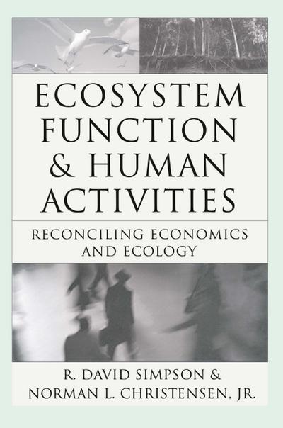Ecosystem Function & Human Activities