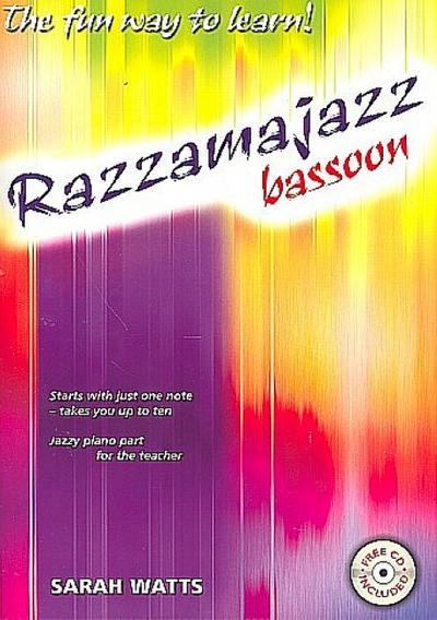 Razzamajazz (+CD) : for bassoonand piano