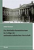 Das Reichskirchenministerium im Gefüge der nationalsozialistischen Herrschaft