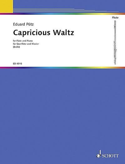 Capricious Waltz :für Flöte und Klavier