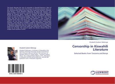 Censorship in Kiswahili Literature