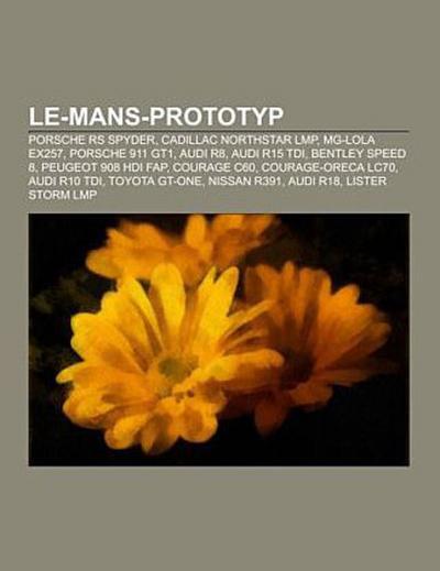 Le-Mans-Prototyp