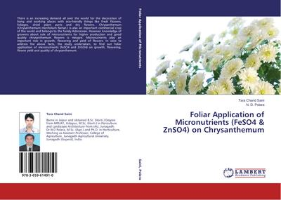 Foliar Application of Micronutrients (FeSO4 & ZnSO4) on Chrysanthemum