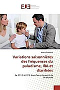 Variations saisonnières des fréquences du paludisme, IRA et diarrhées