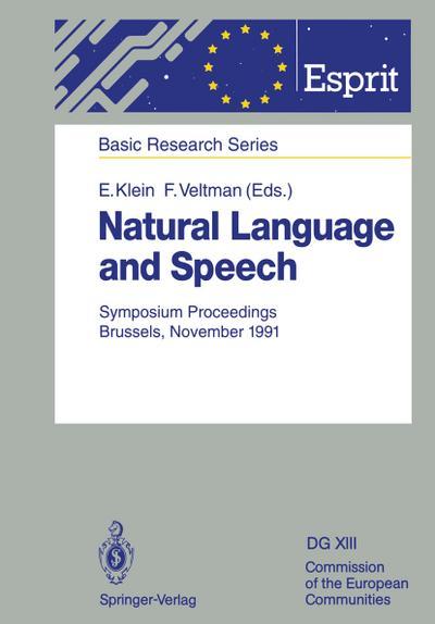 Natural Language and Speech